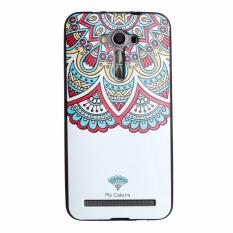 Soft TPU 3D Embossed Painting Cover Case For Asus Zenfone 2 Laser ZE550KL(Totems)