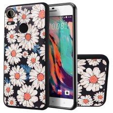 Soft TPU Case untuk HTC Desire 10 Pro Bunga Matahari 3D Lukisan Timbul Series Protective Cover-Intl