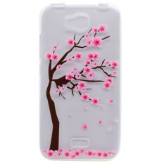 Soft TPU Cover Case untuk Huawei Honor Bee/Huawei Y5C (Peach)-Intl