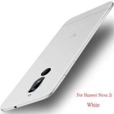 Soft TPU Matte Silicone Ultra Tipis Slim Melindungi Ponsel Case Phone Shell untuk Huawei Nova 2i-Intl