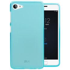 Soft TPU Phone Case untuk Lenovo ZUK Z2 (Biru)