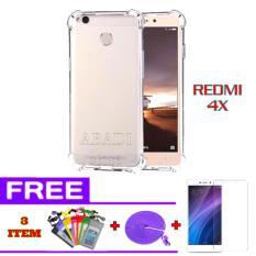 Harga Hemat Softcase Anti Cr*ck For Xiaomi Redmi 4X Free Tempered Glass Kabel Data Tali Sepatu 3Meter Waterproof Multicolor