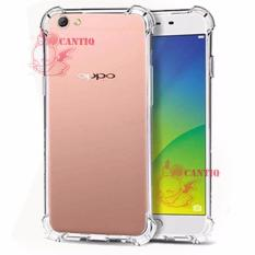 Softcase Anti Crack Oppo A57 / Case Anti Shock Oppo A57 /Silicon Anti Crack Oppo A57 / Back Case Anti Crack Oppo A57 - White Clear