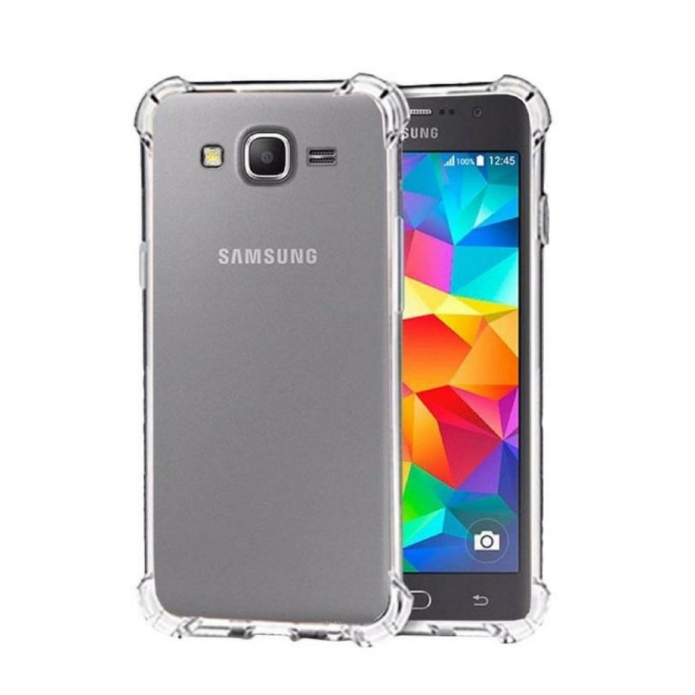 Jak Shop Softcase Anti Shock / Anti Crack Case Samsung Galaxy Grand Prime G530 - Clear