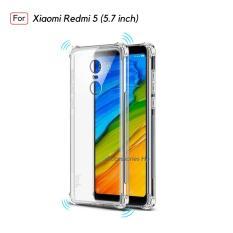 Softcase Anti Shock / Anti Crack Case Xiaomi Redmi 5 (5.7 Inch) - Clear