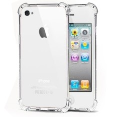 Case AntiCrack / Anti Crack / Shock / Benturan Elegant Softcase for Iphone 6 - Clear