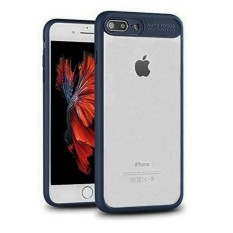 Softcase Auto Fokus Transparant Ultimate iPhone 7 - Navy