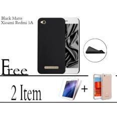 Softcase Black matte Carbon Hp XIAOMI REDMI 5A FREE ANTI CRACK FOR XIAOMI REDMI 5A AND TEMPERED GLASS FOR XIAOMI REDMI 5A Abenk Shop