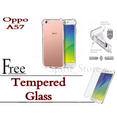 Softcase Case AntiCrack For Vivo A57 Free Tempered Glass Oppo A57 Spirit_Store