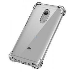 Softcase Case Anticrack For XIAOMI REDMI 5 Shockproof - Clear