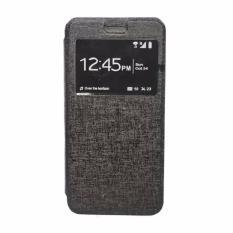 Softcase Casing for Samsung Galaxy J2 / J200 Flip Cover / Flip Shell Delkin [Hitam