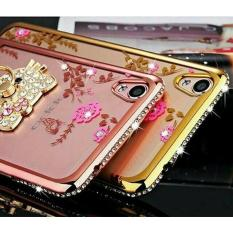 Softcase Flower Diamond Case + Ring Oppo Neo 9 A37 - B6cebc