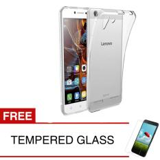 Softcase for Lenovo Vibe K5 / K5 Plus - Clear + Gratis Tempered Glass - Ultra Thin
