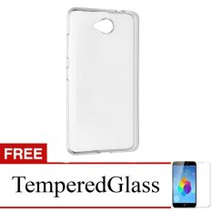 Jual Softcase For Nokia Lumia 535 Clear Gratis Tempered Glass Ultra Thin Branded