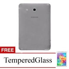 Softcase for Samsung Galaxy Tab 3V / T110 - Abu-abu + Gratis Tempered Glass - Ultra Thin