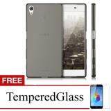 Softcase For Sony Xperia Z2 D6502 Abu Abu Gratis Tempered Glass Ultra Thin Murah