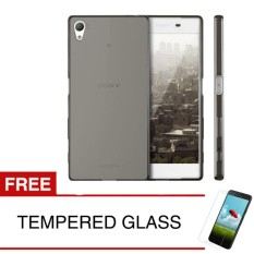 Promo Toko Softcase For Sony Xperia Z3 Z3 Plus E6553 Abu Abu Gratis Tempered Glass Ultra Thin