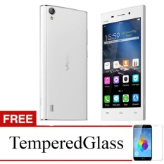 Softcase for Vivo Y55 - Clear + Gratis Tempered Glass - Ultra Thin