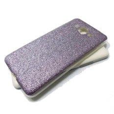 Softcase Glitter Series for Samsung Galaxy E7 - Ungu