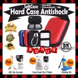Toko Promo Sale Sofcase Harddisk Hard Case Shockproof Tas Hardisk Powerbank Tahan Banting For External Hdd 2 5 Inch Pouch Bag Merah Gratis Led Usb Portable Iring Stand Hp Tablet Cleaning Kit Pembersih Lcd Pc Laptop Online Terpercaya
