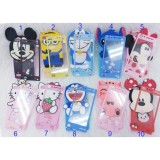 Jual Softcase Karakter 4Dimensi Boneka Timbul For Vivo Y53 Free Tempered Glass Motif Senada Case Random Abs Grosir