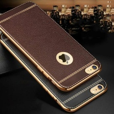 Beli Softcase Leather Chrome Iphone 7 Casing Bahan Kulit Premium Case Cicilan