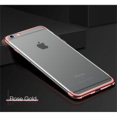 Softcase Neon Bening Iphone 6 / 6S Case Silicon Casing List Warna - ROSE GOLD