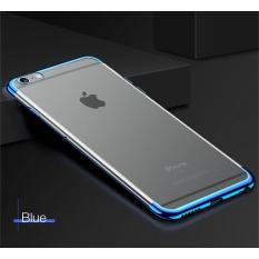 Jual Softcase Neon Light Iphone 6 6S Case Silicon Casing List Warna Biru Import