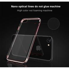 Softcase Neon Light Iphone 8 Case Silicon Casing List Warna - ROSE GOLD