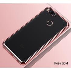 Harga Termurah Softcase Neon Light Xiaomi Mi A1 5X Case Silicon Casing List Warna Rose Gold