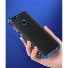 Beli Softcase Neon Transparant Xiaomi Redmi 4X Case Silicon Casing Biru Kredit Dki Jakarta