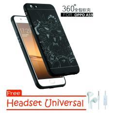 Spesifikasi Softcase Original Dragon For Oppo A59 Free Headset Universal Beserta Harganya