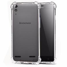 Softcase Silicon Anti Shock / Anti Crack Elegant Softcase  for Lenovo A6000 / Lenovo A6000 Plus - White Clear