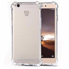 Softcase Silicon Anti Shock / Anti Crack Elegant Softcase  for Xiaomi Redmi 3s Pro - White Clear