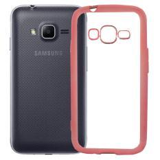 Softcase Silicon Jelly Case List Shining Chrome for Samsung Galaxy V2 (J1 Mini Prime)