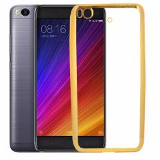 Softcase Silicon Jelly Case List Shining Chrome for Xiaomi Mi 5s - Gold