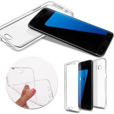 Jual Softcase Ultra Thin Case Depan Belakang 360 For Samsung S7 Edge Termurah