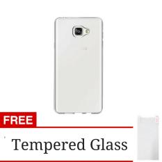 Softcase Ultrathin Aircase Jelly for Samsung Galaxy J5 Prime - Clear + Gratis Tempered Glass