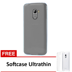 Softcase Ultrathin Untuk Lenovo A7010/K4 NOTE - Clear + Free Softcase Ultrathin