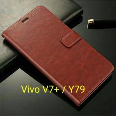 Spesifikasi Case Vivo V7 Plus Flip Leather Wallet Softcase Vivo V7 Vivo Y79 Yang Bagus