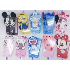 Softcase/Case Karakter 4Dimensi Timbul FOR VIVO Y69 Free Tempered Glass Motif Senada Case (RANDOM) - ABS
