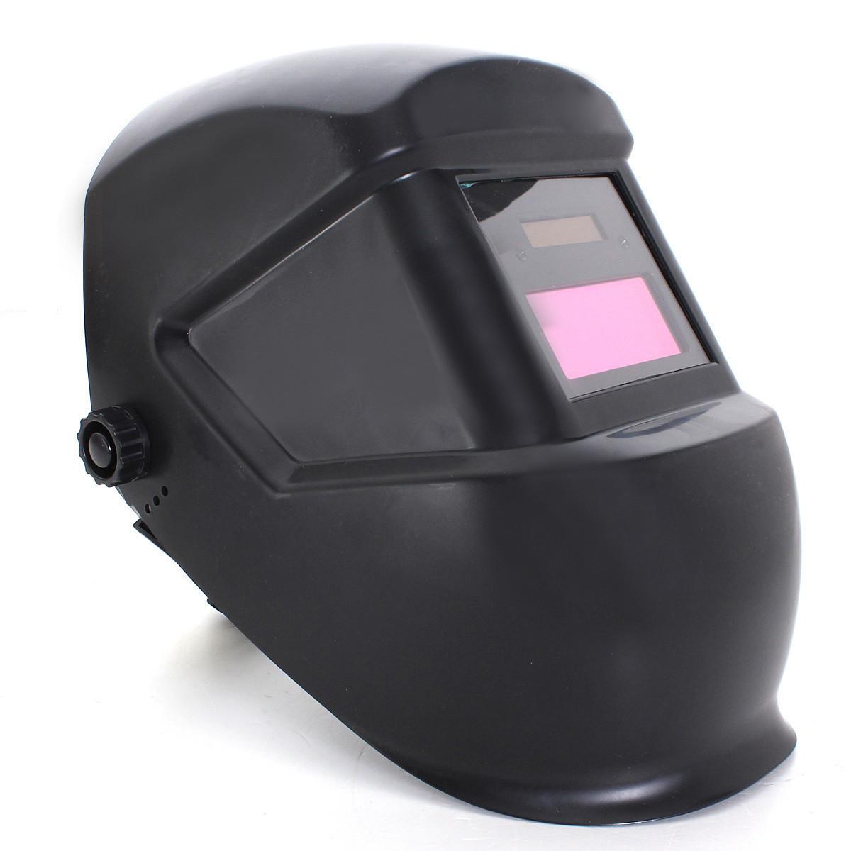 Harga Solar Auto Menjadi Gelap Welding Helmet Arc Tig Mig Masker Pelindung Hitam New