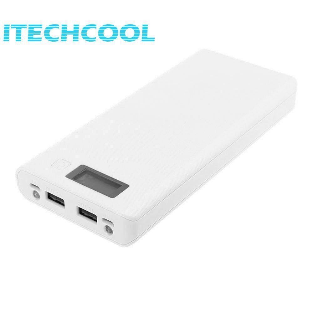 Solderless 8X18650 Baterai Dual Usb Port Led Display Power Case Intl Not Specified Diskon 50