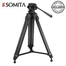 Somita Semi Pro Video Tripod ST-650 - Hitam