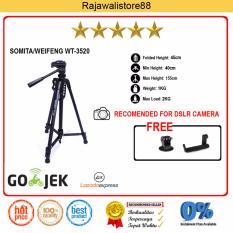 Toko Somita Tripod Dslr Wt 3520 Hitam For Canon Nikon Sony Fujifilm Mirrorless Dslr Somita Di Jawa Barat
