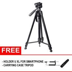 Beli Somita Tripod St 3520 For Canon Nikon Fujifilm Dslr Hitam Free Aksesories Nyicil