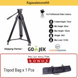 Situs Review Somita Tripod Video Proffesional St 650 For Sony Mc2500A Pd177 Jvc Panasonic Handycam