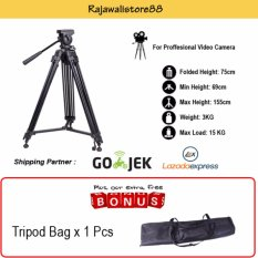 Somita Tripod Video Proffesional ST-650 For Sony MC2500A/PD177/JVC/Panasonic Handycam