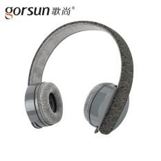 Lagu Masih 7003 Headset Mp3 Komputer Ponsel Universal Stereo Musik Headset-Internasional