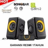 Ongkos Kirim Sonic Gear Speaker Quatro 2 Kuning Di Jawa Barat